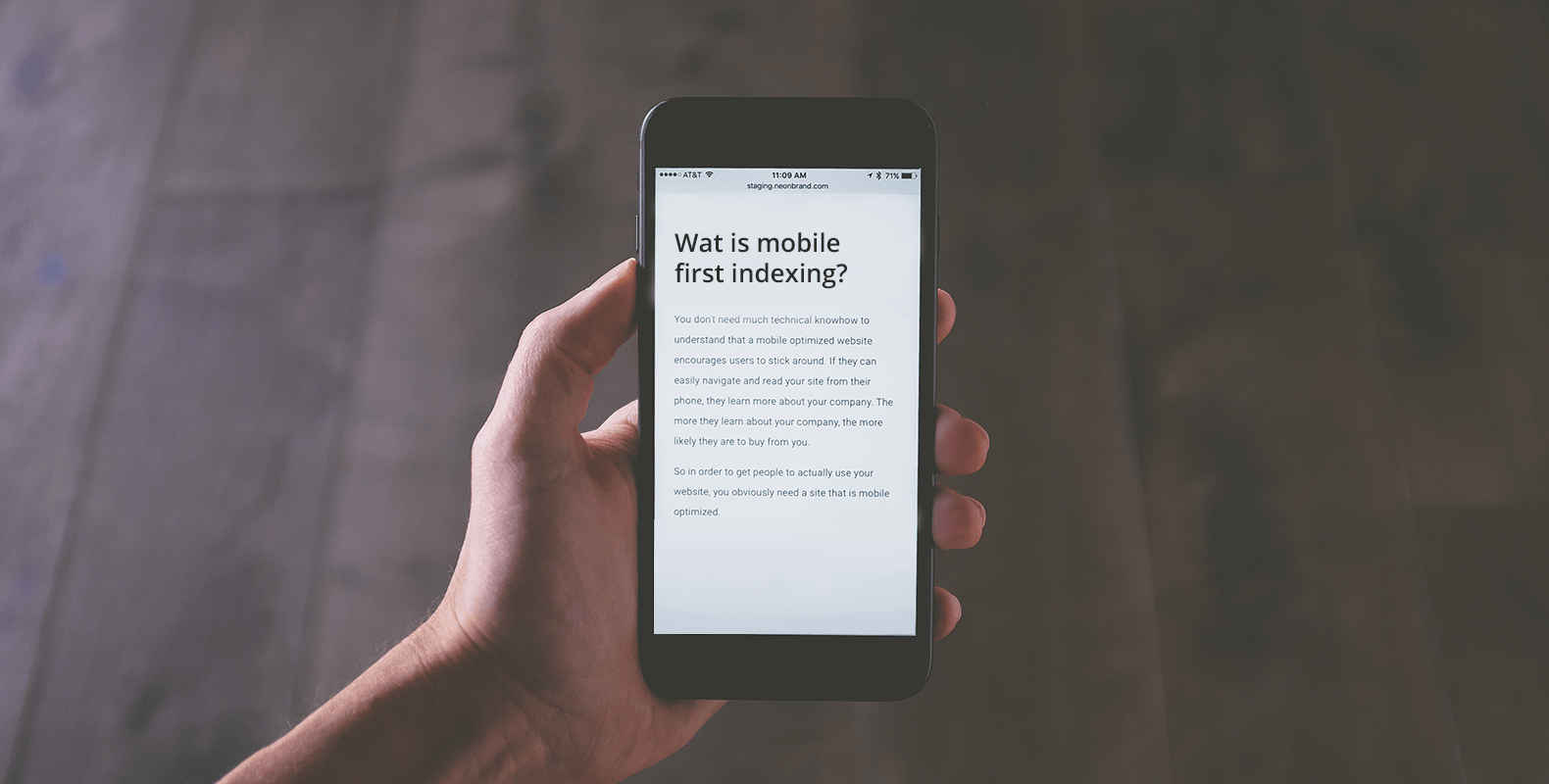 Mobile first indexing: ben jij er al klaar voor?