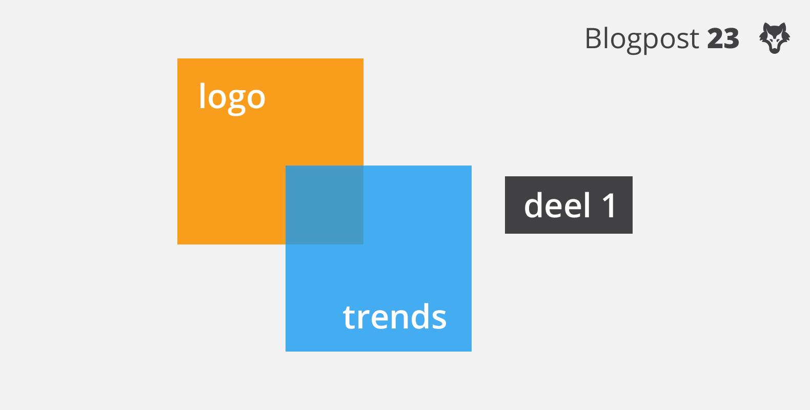 Dit zijn de logo trends van 2017 – deel 1