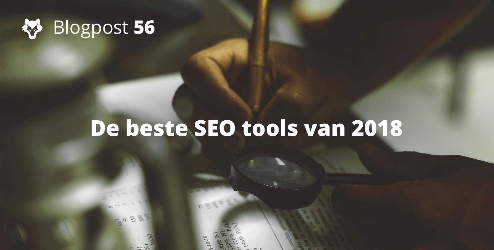 De beste SEO tools van 2018