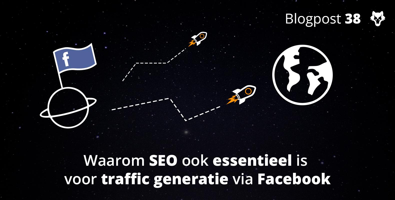 Waarom SEO ook essentieel is voor traffic generatie via Facebook