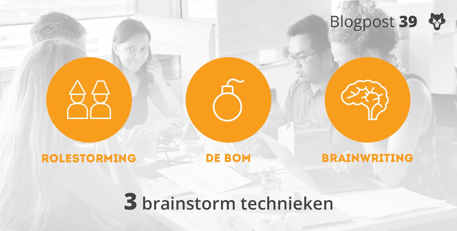 Drie brainstorm technieken voor creatieve denkprocessen