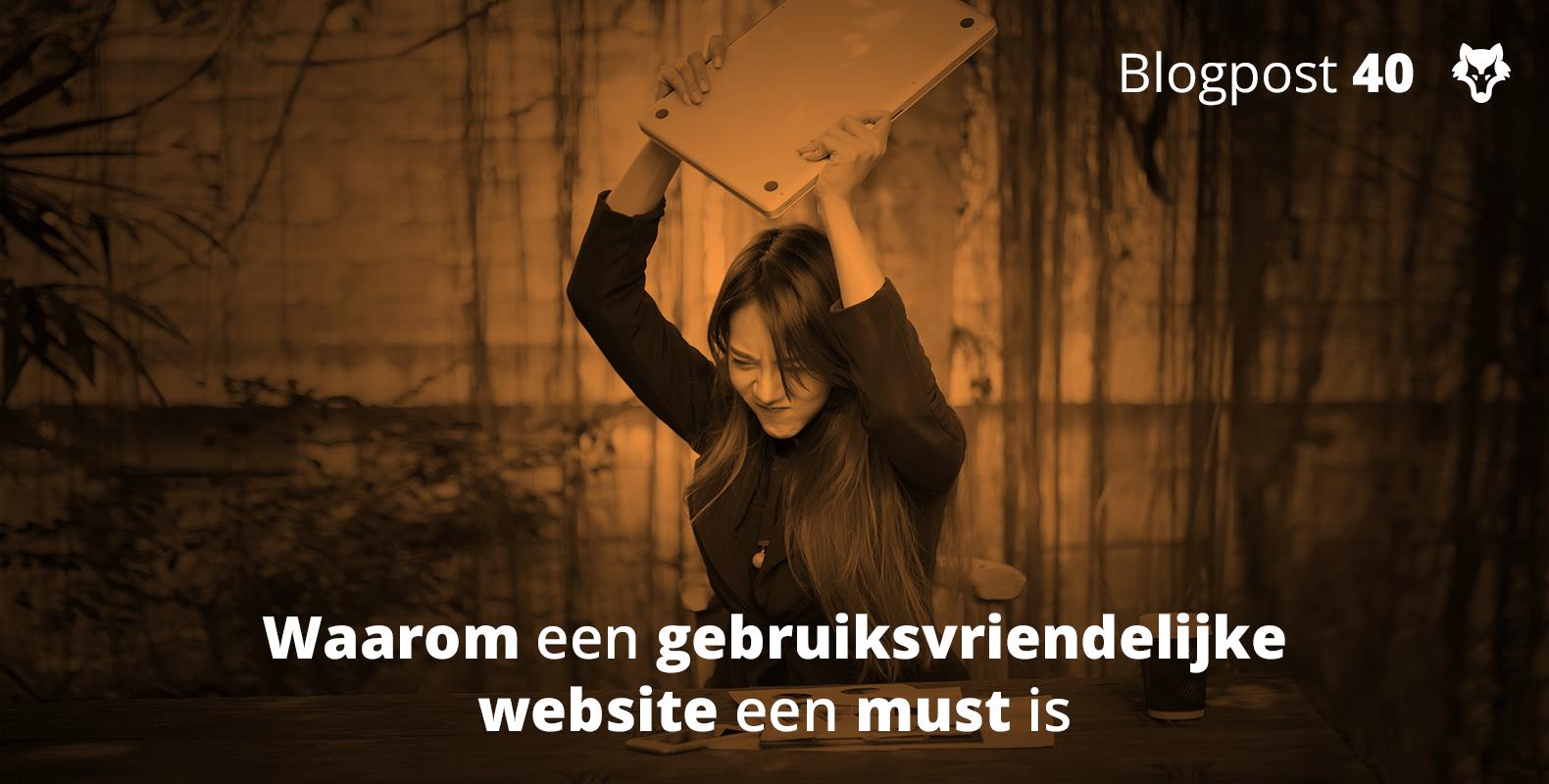 Waarom een gebruiksvriendelijke website een must is