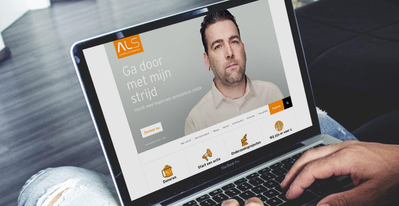 Mad Pack wordt digital marketing partner van Stichting ALS